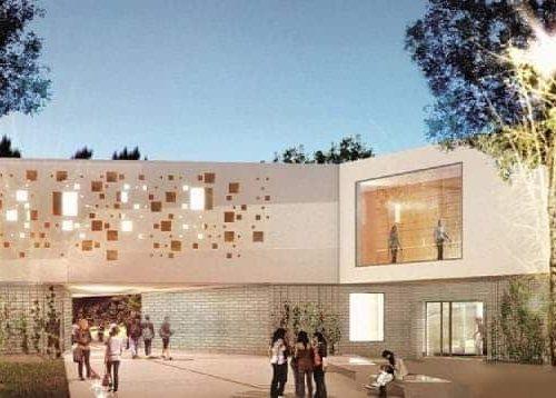 En reconstruction, le collège d'Anzin ouvrira dans un an