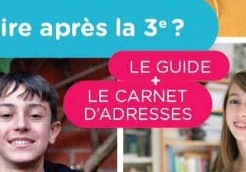Guide que faire après la 3ème édition Hauts de France